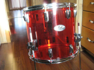 Pearl Crystal Beat tom, Pearl mounting hardware