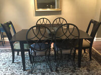 Eclectic 7 Piece Dining Set