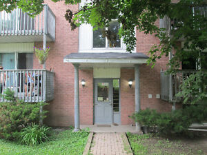 Ground level two-bedroom Bracebridge apartment available Sept. 1