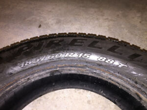 Pirelli Winter Tires 185/60R15 Set of 4