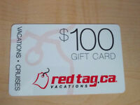 Red Tag $100 gift card