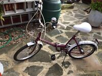 Girls retro bike