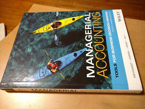 Managerial Accounting Tools for Decision Making 4th Canadian Ed