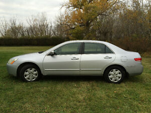2003 Honda Accord XL Sedan - LOW MILES - PRICE DROP Strathcona County Edmonton Area image 1