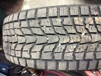 Winter tires for sale 225/60 R-17, on steel rims!