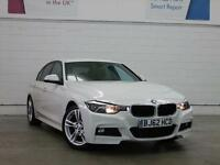 2013 BMW 3 SERIES 320d M Sport Leather Bluetooth GBP30 Tax