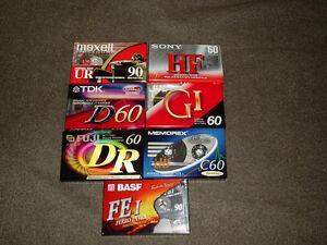 Brand New Cassette Tapes