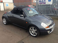 Ford Streetka 1.6 2003.5MY Luxury ONLY 65 K CHEAP CONVERTABLE!!!!