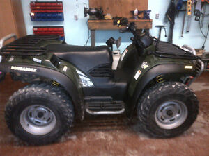 Bombardier Traxter 500 4 X 4 in Great Shape Very Low KMS