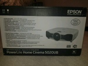 "High End Epson 3D 1080P Projector & 120"" Screen"