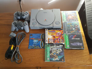Playstation One + Games