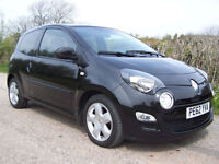 2012 62 Plate Renault Twingo 1.2 16v ( 75bhp ) Dynamique In Black