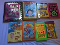 Set of 8 Jaqueline Wilson Books