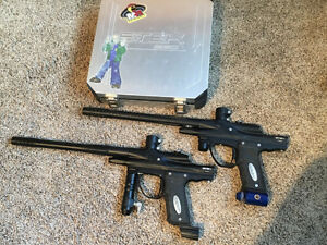 Lot of paintball markers
