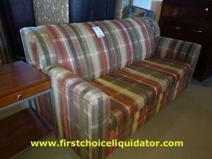 RA Plaid double size sofa bed