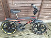 Vintage Retro Raleigh Street Wolf BMX Mini Burner