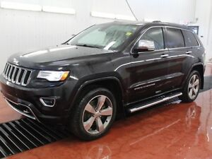 2014 Jeep Grand Cherokee Overland  - Heated Seats -  Cooled Seat