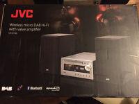 Jvc uxd100 valve amplifier with Bluetooth rrp£169