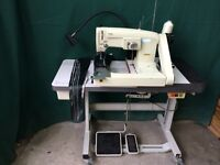 Consew feed off the arm zig zag industrial sewing machine