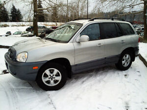 ** 2006 Hyundai Santa Fe AWD-SUV, 1Owner. Automatic, 144K-V6,