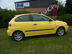Seat Ibiza 1.4 16v 2005 LHD Left hand drive PX Swap Anything considered