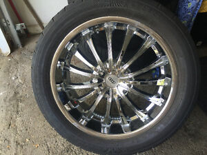 """RIMS WITH TIRES FOR SALE 20"""""""