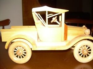 Hand made Wooden Ford Truck