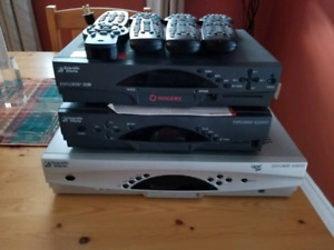 3 Rogers cable boxes
