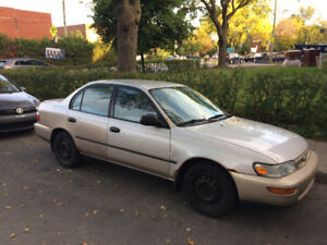 1997 Toyota Corolla $2600 of new parts put in the last 8 months!