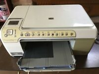 HP PHOTOSMART ALL IN ONE COPIER, SCANNER AND PRINTER.