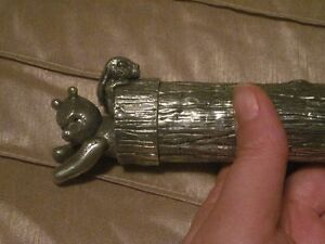 NEW-Royal Selangor-Winnie the Pooh Document Holder--Solid Pewter