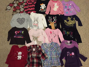 Girls fall/winter clothing set- 2T- 68 pieces