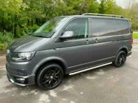 2017 Volkswagen Transporter T6 TDI HIGHLINE SWB IN INDIUM GREY WITH LEATHER SEAT