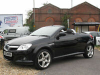 2006 VAUXHALL TIGRA 1.4i 16v EXCLUSIVE SPORTS CONVERTIBLE -LOW INSURANCE !!