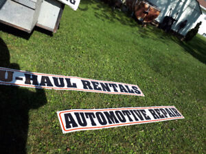 8ft long really cool tin signs for man cave or shop