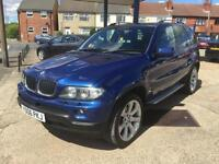 2006 BMW X5 3.0d auto Le Mans Blue Sport Edition 117,000 full history hpi clear