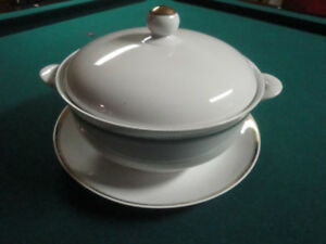 SOUP TUREEN - 3-PIECES, MADE IN GERMANY, MINT CONDITION!