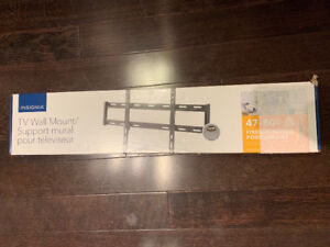 """Insignia 47"""" - 80"""" Fixed TV Wall Mount NS-HTVMF1703-C New in Box"""