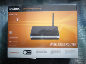 D-Link Router WBR - 1310 - New in Sealed Box