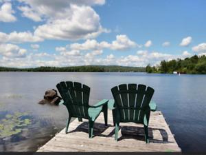 chalet à louer, Lac Sept-Îles, Saint-Raymond, 45 min. de Québec