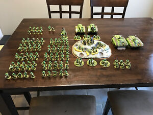 Warhammer 40k Imperial Guard Army For Sale London Ontario image 1