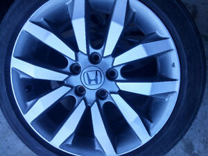 Honda Civic / Acura Mags and Tire 215-45-R17,Bolt pattern 5X1143