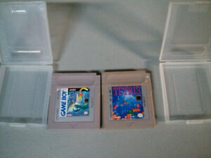 Nintendo Gameboy video gamesOperation C and Tetris with cases