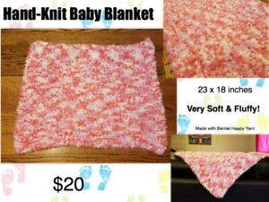 Hand Knit Baby Blanket Buy New Used Goods Near You Find