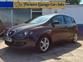 Seat Altea 1.9TDI 2006 Reference 74,377 Miles In Grey