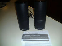 ****GREAT !!! NEW !!! Dell AX210 USB Stereo Speakers !!!***