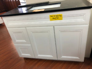 "42"" vanity cabinet demos S-A-L-E on floor!!"