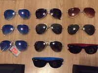Ray Ban RayBan Aviator Wayfarer Sunglasses