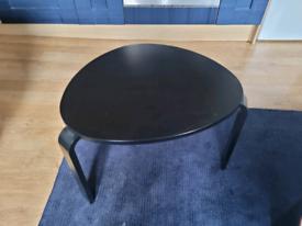 Dark brown/black side table