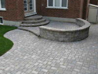 For all your paving stone and spring clean up needs